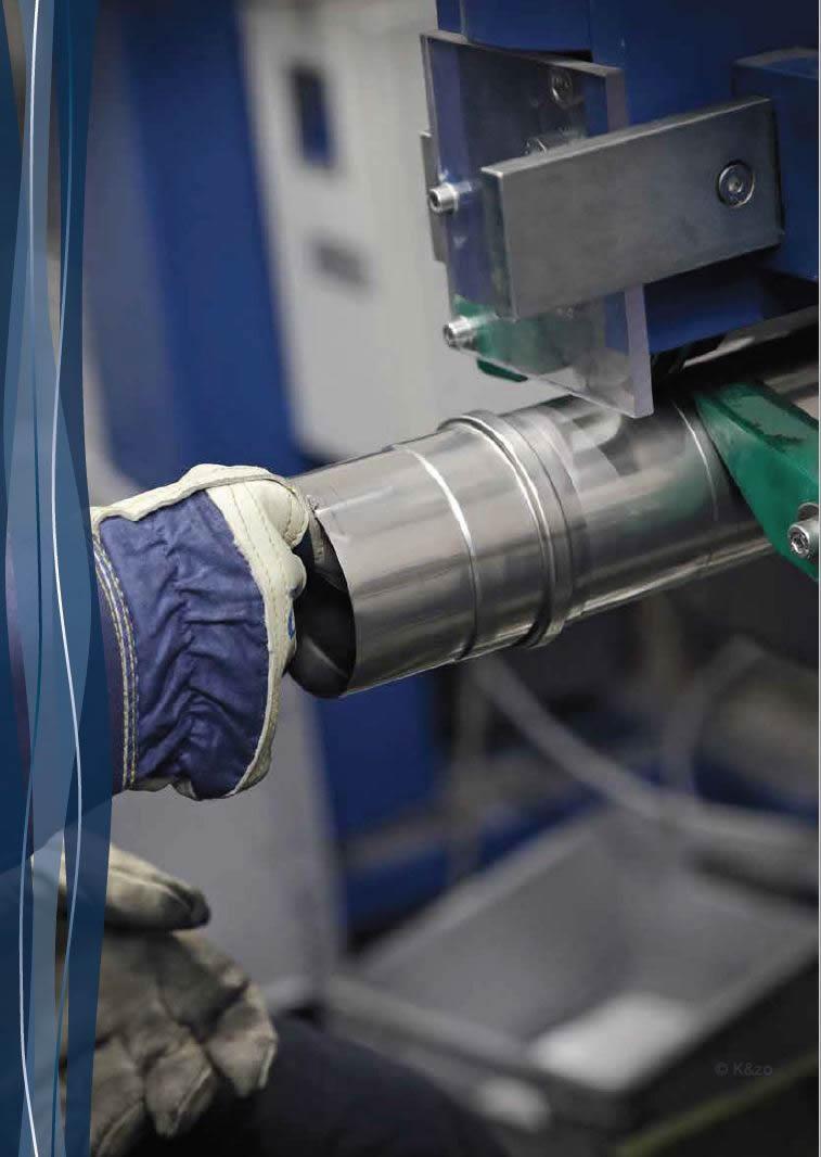 Holetherm productie